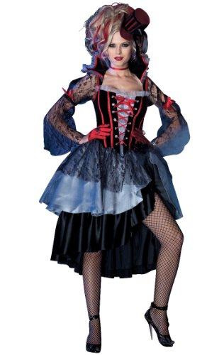 less is more Costume da queen of Dark Shadows, taglia S/M