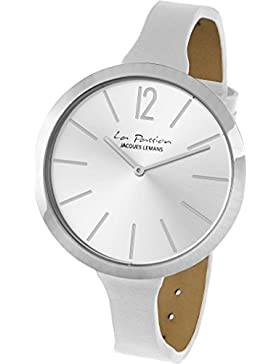 Jacques Lemans Damen-Armbanduhr La Passion Analog Quarz Leder LP-115B