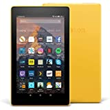 Fire 7 Tablet, 8 GB, Yellow—with Special Offers