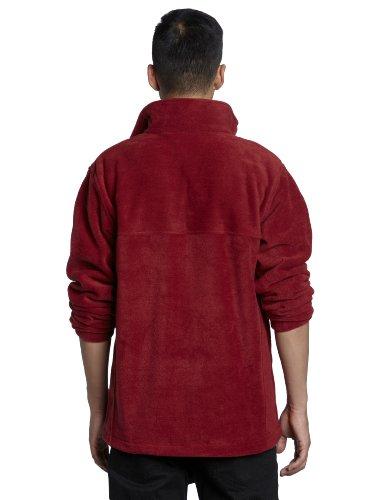 Columbia Mens Steens Mountain Front-Zip Fleece Jacket Red Element