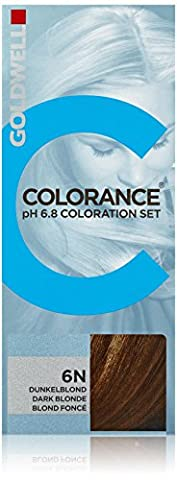 Goldwell Colorance pH 6.8 Colorations Set 6N dunkelblond, 1er Pack (1 x 90 ml)