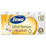 Zewa Deluxe Mandelmilch Pack de 16 rouleaux de papier toilette Senteur lait d'amande