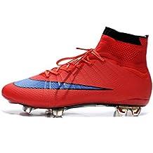 ... da calcio nike alte mercurial. Mens Mercurial Superfly IV FG rosso alto scarpe  calcio stivali b9f9762d0df