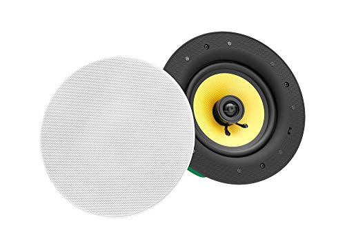 Altavoz de techo de Pronomic CLS-660 WH High End Kevlar. Altavoz empotrable. Caja...