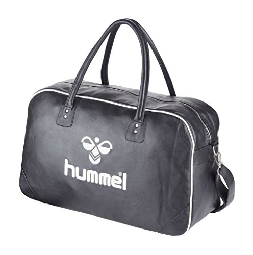 Hummel LOGO BIG BAG ALL YEAR - BLACK/WHITE, Größe:- (Gestickte Hummel)