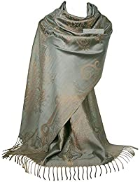 55c233b9570 Amazon.fr   Pashminas - Echarpes et foulards   Vêtements