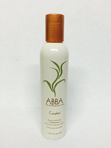 Abba Pure and Natural Hair Care Complete Shampoo 6.75 Oz