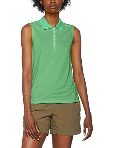 CMP Damen Polo T-Shirt, Green Tea, 46