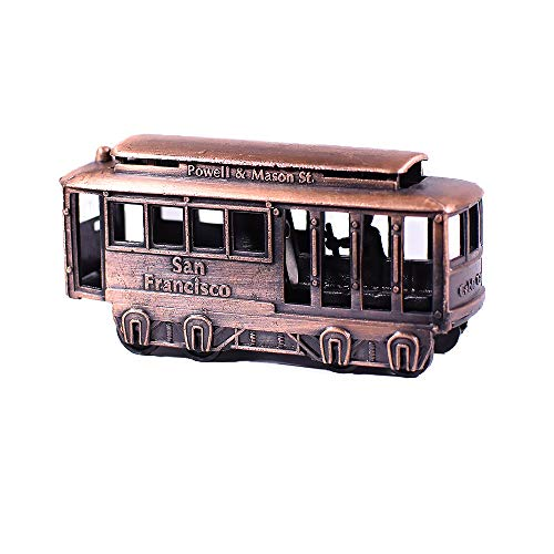 Metall Druckguss San Francisco Kabel Auto Miniatur Anspitzer Replica Hand Nähmaschine Figur