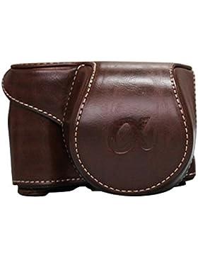 ZARU Leder Kameratasche, Tasche Tasche für Sony A6000 A6300 NEX6
