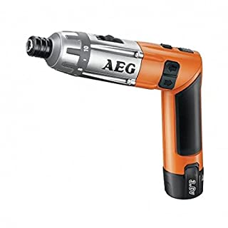 Aeg Powertools 0000044 Cordless 3.6 V Lithium Battery, 600 RPM Speed, 6.5 NM