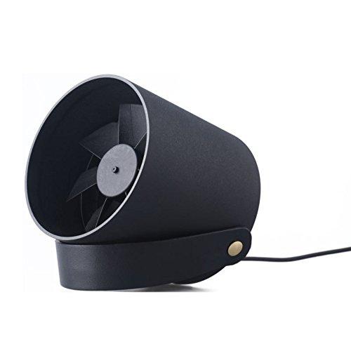 GUOQP Persu00f6nlicher, leiser, weicher Wind, Touch Smart USB-Lu00fcfter, tragbares Mini-Bu00fcro, Schu00fclerlu00fcfter, Home Outdoor.-Black
