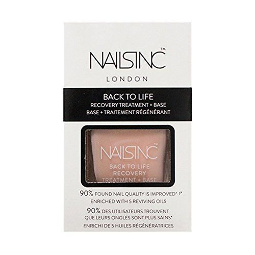 Nails Inc Back to Life Recovery Treatment and Base Coat