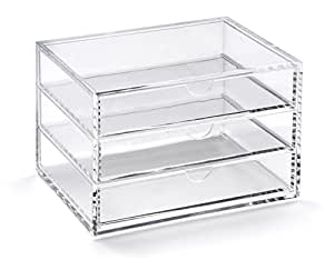 OSCO Acrylic 3 Drawer Chest