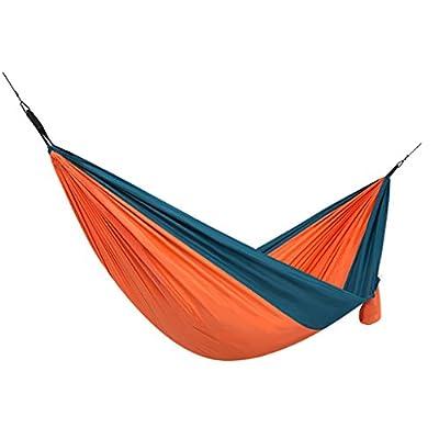DS Hängematte Hängematte im Freien 1 Personen Portable Camping Tourismus 290 × 148cm 3 Farbe Optional ** von Dong Sheng shop auf Gartenmöbel von Du und Dein Garten