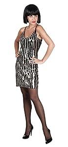 Boland - Disfraz de disco cebra para mujer, talla única