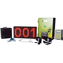 Token Display System with Voice - Keypad - Combo(P10)