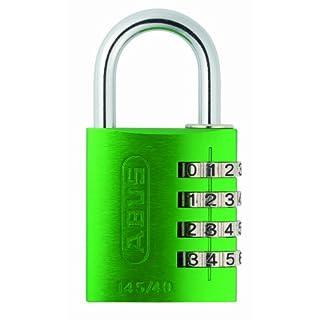 ABUS 145/40 Combination Padlock - Green