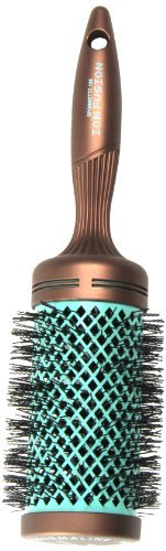 Spornette Ion Fusion Aerated Hair Brush, Round, 3 Inch by Spornette