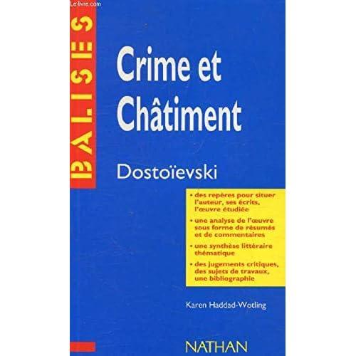 'Crime et châtiment', Dostoïevski : Des repères pour situer l'auteur...