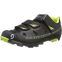 Scott MTB Elite - Zapatillas de Ciclismo de Material sintético para Hombre Verde Verde
