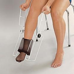 Homecraft, enfile-bas Donner, enfile-collants, avec insertion du pied et longues poignées, aide à l'habillement, pour personnes âgées, handicapées ou à mobilité réduite