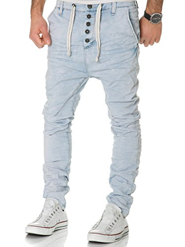 Urban Surface Jogg Jeans Herren Sweatpants Hose Joggjeans Denim Slim Fit Chino Sublevel