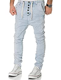 Urban Surface Jogg Jeans Herren Sweatpants Hose Joggjeans Denim Slim Fit Chino Sublevel