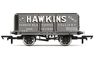 Hornby R6875 Hawkins - Carro de Carga (7 Planos, 1022), Multicolor