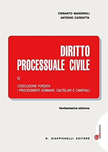 Diritto processuale civile. Con Contenuto digitale (fornito elettronicamente): 4