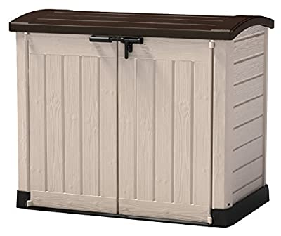 KETER - Terrace Chest Shed 1,200 Litres - inexpensive UK light shop.