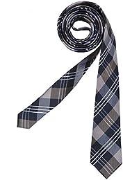 Seidensticker braun gemusterte Krawatte TIE 5cm slimfit