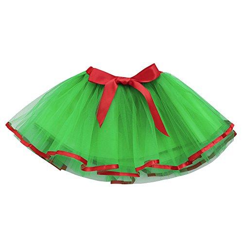 Amphia - Kinderkarneval Tutu - Tutu Rock - Nette Qualität Baby Mädchen Kinder Solide Tutu Ballett Röcke Fancy Party ()