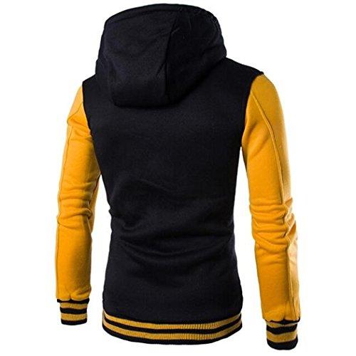 VENI MASEE Herren Fashion Style Hoodies Taschen Pullover Outdoor Sweater  mit Kapuze, ... 72a36ab25c