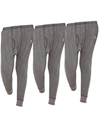 Vimal Premium Blended Grey Thermal Lower For Boys(Pack Of 3)