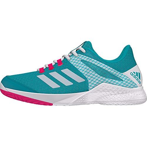 adidas Damen Adizero Club 2.0 Tennisschuhe, Mehrfarbig (Multicolor 000), 38 2/3 EU