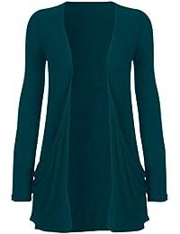 Freund gilet en tricot pour femme all cardigans boyfriend couleurs (colours) (sm) (36/38 (bleu)