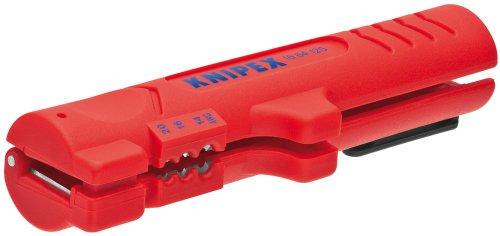 Preisvergleich Produktbild KNIPEX 16 64 125 SB Abmantelungswerkzeug für Flach- und Rundkabel 125 mm (in SB-Verpackung)