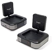 Engel Axil Boston MV7230 - Emisor y receptor de equipo video y sonido (8 canales seleccionables, 5.8 GHz), negro
