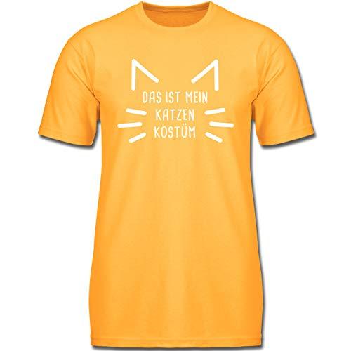 Kostüm Katze Boy - Karneval & Fasching Kinder - Das ist Mein Katzen Kostüm - 164 (14-15 Jahre) - Gelb - F130K - Jungen Kinder T-Shirt