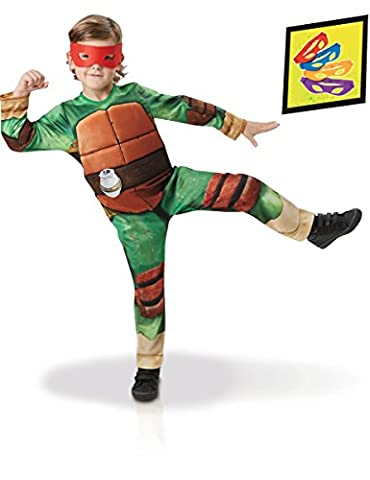 Coffret déguisement luxe Tortues Ninja -TMNT Nouveau modèle 5 à 6 ans