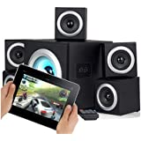 Sumvision Vcube 5.1 Surround Sound Home Theatre Speakers System- Speakers + Subwoofer With Bluetooth Perfect For PC Gaming Laptop Android Tables Ipads Iphones