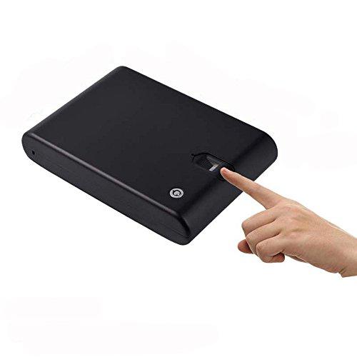 HAIT Caja De Huellas Dactilares Biométrica Portátil Joyería De La Mano De...