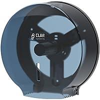 Clar Systems P3000PT Dispensador de Papel Higiénico en Rollo, Transparente