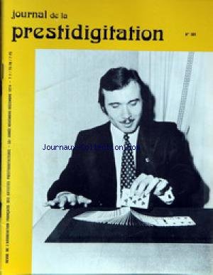 JOURNAL DE LA PRESTIDIGITATION [No 301] du 01/11/1974 -