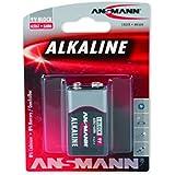 Ansmann - Alcaline Red Line Bloc 9V E Blister de 1