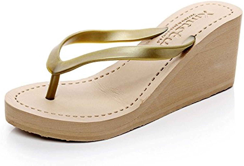 chengxiaoxuan summer sandales de de nouveaux talons haut de sandales la plate - forme tongs femmes barboteuse pantoufles antidérapantes occasionnel. f119af