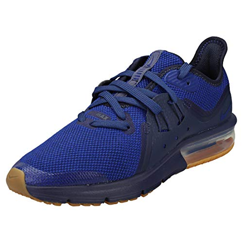 Nike Air Max Sequent 3 Gs Kids Trainers Royal Blue - 6 UK - 39 EU 5d18afb2236