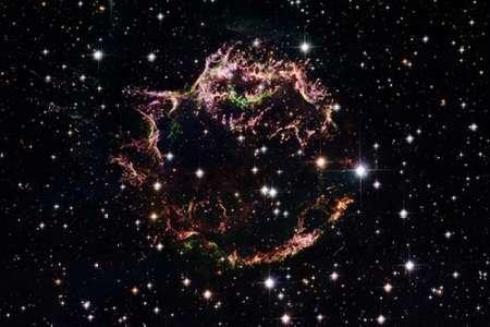 Feeling at Home Feelingathome-Leinwand-Bild-Supernova-Rest-Cassiopeia-A-MŠrz-2004-cm56x85-Kunstdruck-auf-Leinwand