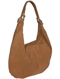 Damen Leder Schultertasche,Shopper,Handtaschen Beuteltasche 36x42 cm(HxB)